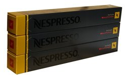 A photograph of the Nespresso Volluto Decaffeinato coffee pods