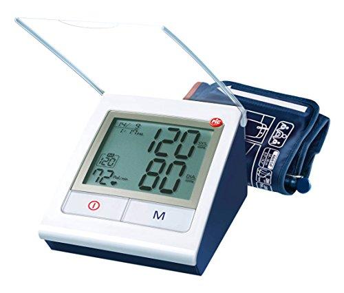 Pic Solution Classic Check Sfigmomanometro automatico da braccio, colore Rosa, bianco