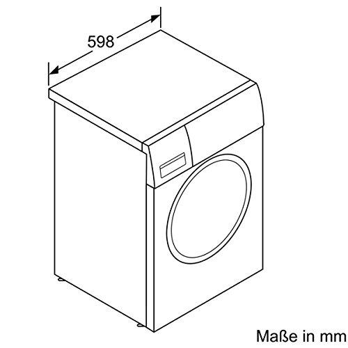 Siemens WM16W541 iQ700 Waschmaschine FL / A+++ / 196 kWh/Jahr / 1551 UpM / 8 kg / 10560 L/Jahr / Antiflecken-System / weiß - 6