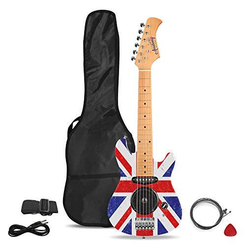 Academy of Music Chitarra elettrica per Bambini Starter Set per Principianti con Amplificatore...