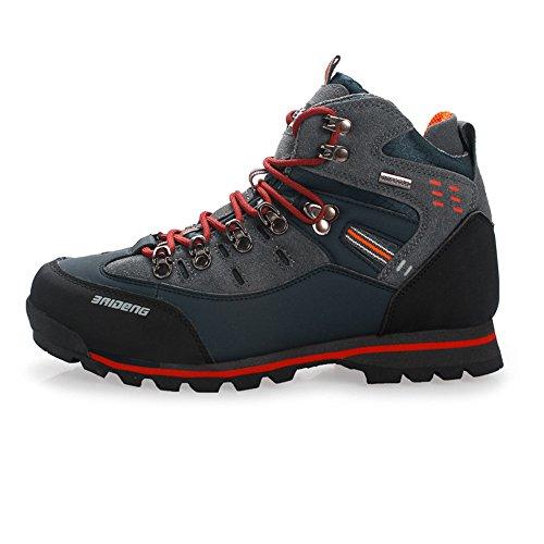 SANANG Pelle esterna impermeabile Hiking Boots autunno Uomini Sport invernali Trekking alpinismo...