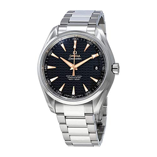 Omega Seamaster Aqua terra automatico nero quadrante mens orologio 23110422101006
