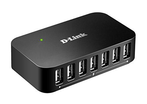 D-Link DUB-H7 Hub USB 2.0 a 7 Porte per Trasferimento Dati