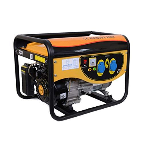 HIOD Grupo Electrógeno Inversor - 3000w, 3kva, 220v, Simplex, Tranquilo Mini Casa Emergencia Generador, Gasolina Gas Natural Gas Licuado Suministro
