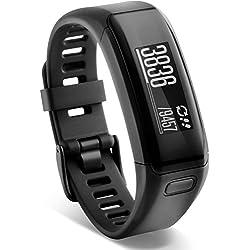 Garmin vívosmart HR Fitness-Tracker - integrierte Herzfrequenzmessung am Handgelenk, Smart Notifications, Schwarz, M - L (13,7-18,8 cm)