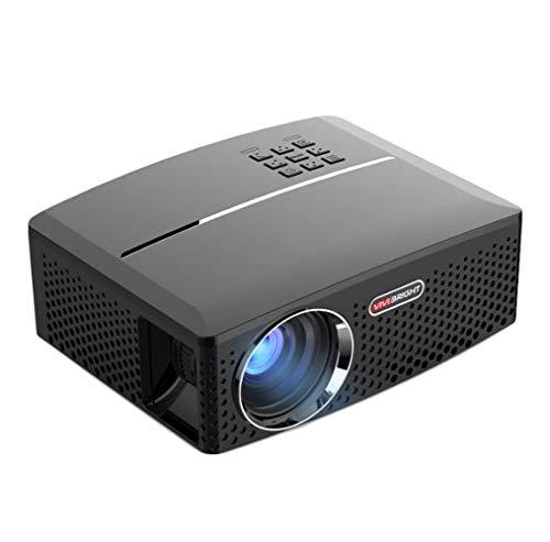 JIANG BREEZE Proiettore Micro-Proiettore Mini Proiettore Portatile 4000 lumens Max 180 Pollici...