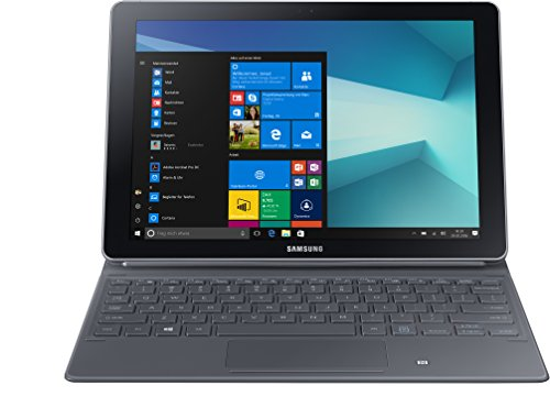 Samsung SM W627 26,92 cm (10,6 Zoll) Convertible Tablet PC (Intel Core m3 7Y30 4GB RAM 64GB HDD Intel HD LTE Windows 10 Home) silber
