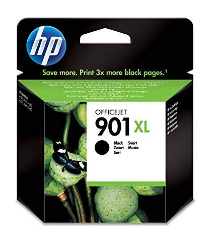 HP 901XL CC654AE, Cartuccia Originale per Stampanti HP a Getto di Inchiostro, Compatibile con...