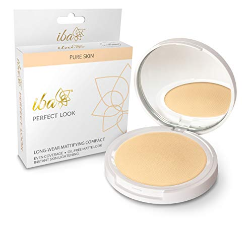 Iba Halal Care Perfect Look Long Wear Mattifying Compact, Snow White, 9 g