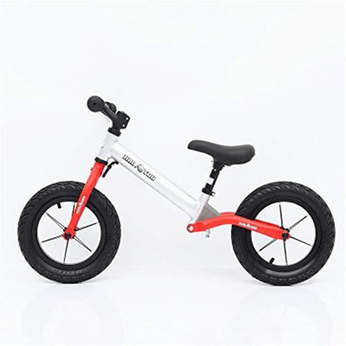 Carrozzina per bambini senza pedali, carrozzina in alluminio con assorbimento degli urti, scivolo...