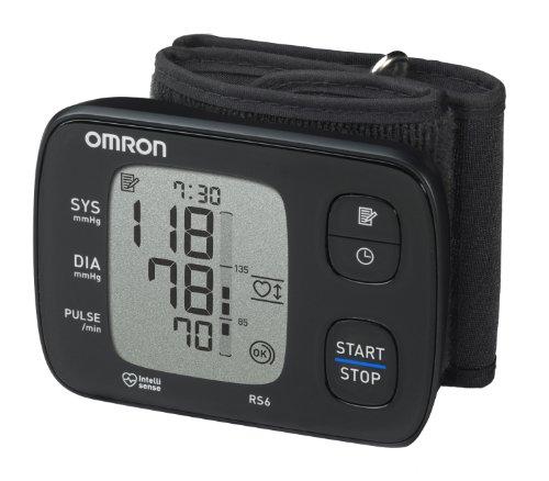 OMRON RS6 Misuratore di Pressione da Polso, Sensore di Irregolarità Cardiaca, Sensore di Movimento...