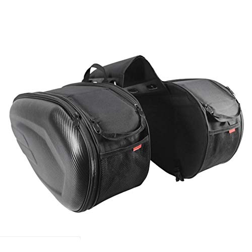 Cosy-TT Motorrad Box Satteltasche Seitenkoffer-Satteltasche für Langstreckenreisen Brigade, Werkzeugtasche wasserdichte große Kapazität Schwanz Paket