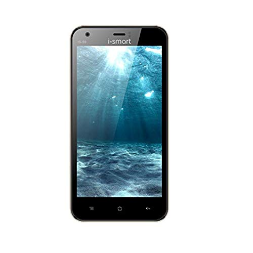 iSmart IS-59 Smartphone, 5MP/2MP Camera with LED Flash, 8GB (Black)