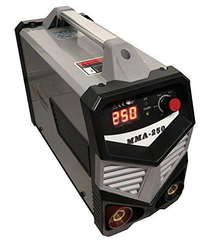 Soldador Inverter Profesional MMA-250 DC Con Tecnología IGBT Apto para uso con GENERADOR (250 Generador)