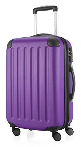 Hauptstadtkoffer 42246366, Trolley da Viaggio, colore Viola, 55 cm