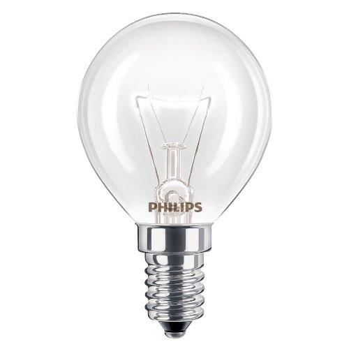 Philips Lampadine da forno, da 40 W, SES, E14, attacco a vite, resistente fino a 300°, per forni...
