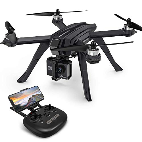 Potensic Drone Brushless GPS WiFi 5G con VideoCamera 1080P FPV RC 130° Grandangolare Drone Professionale D85 con Funzione Seguimi, Headless per Camera C6000 C5000 C4000