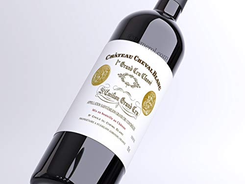 X1 Château Cheval Blanc 2016 75 cl AOC Saint-Emilion Grand Cru 1er Grand Cru Classé A Vin Rouge