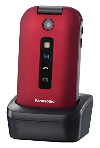 Panasonic KX-TU329 Téléphone à clapet Rouge 22