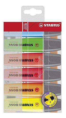 STABILO BOSS Original - Marcador fluorescente - Estuche con 6 colores