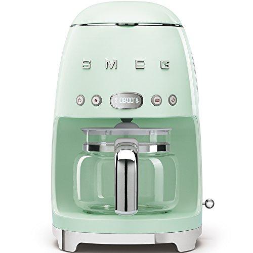 Smeg DCF01PGEU - Caffettiera a filtro, colore: Verde pastello