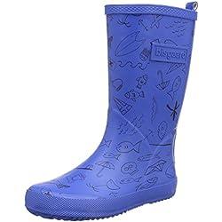Bisgaard Unisex-Kinder Rubber Boot Adventure Gummistiefel, Blau (20 Blue), 33 EU