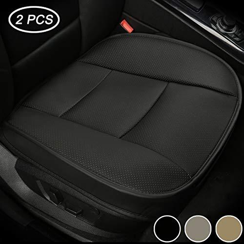 LUOLLOVE Coprisedili Universale Auto Anteriori Super Soft Confortevole Traspirante PU Protezione per...