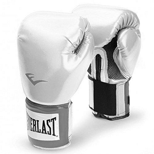 Everlast Pro Style Guanto da Allenamento, Bianco, 10 oz