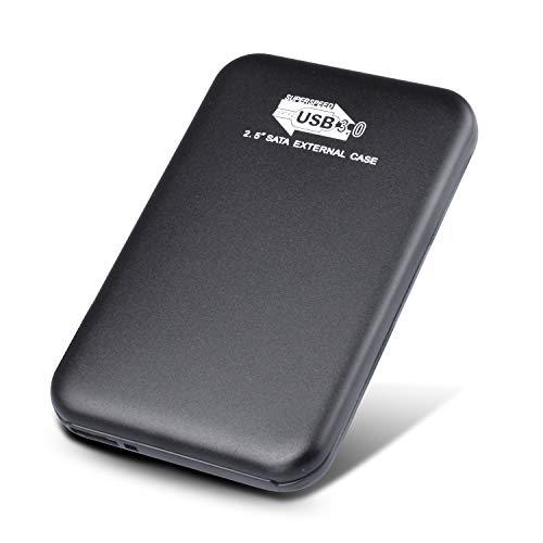 Neeta 2TB Hard Disk Esterno Portatile USB 3.0 Hard Disk Esterno per PC, Mac, Windows, Apple, Xbox...