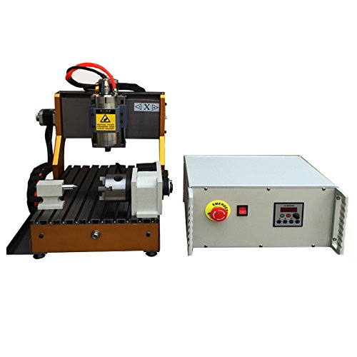 Hanchen 3020 - Macchina per incisioni CNC, 3 assi raffreddati ad acqua, 800 W