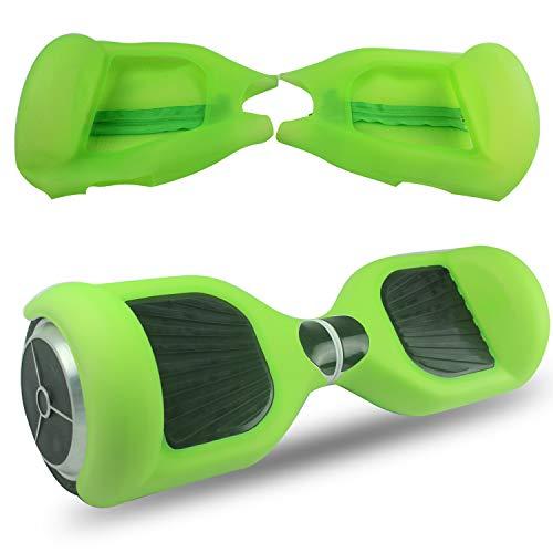 Abby Protettiva Hoverboard Cover in Silicone con Cerniera per 2 Ruote 6,5 Pollici Monopattino Auto...