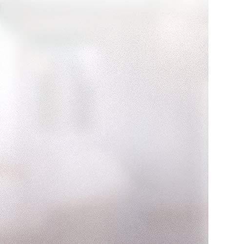 Rabbitgoo Vinilo para Ventana Privacidad Pegatina Translúcida Adhesiva Decorativa del Vidrio Autoadhesiva con Electricida Estática para Baño, Despacho Cocina Control de Calor y Anti UV, 44.5 x 200 cm