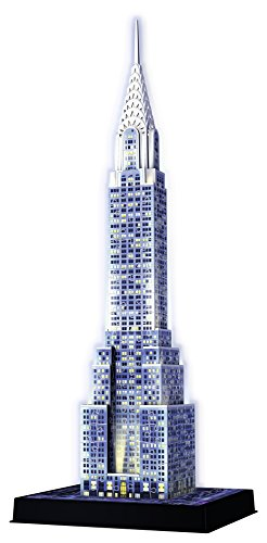 Ravensburger Italy Puzzle 3D Chrysler Building Night Edition, 12595