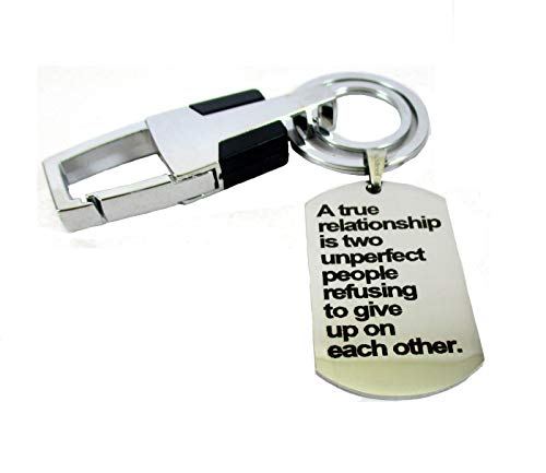 Streetsoul Valentines Day Love Message Engraved Keychain Stainless ... ce7b88d1e0