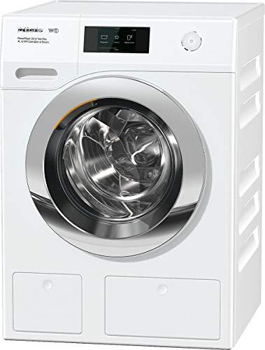 Miele WCR890 WPS PWash2.0 &TDos XL&WiFi &Steam lavatrice Libera installazione Caricamento frontale...
