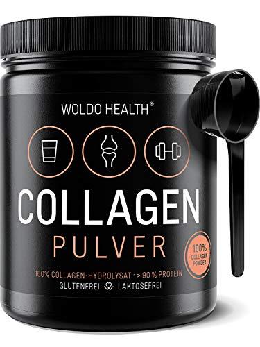 Collagene da Bovini Polvere Proteica puro - 500g Idrolizzato Ideale per le diete paleo Atkins Keto e low Carb