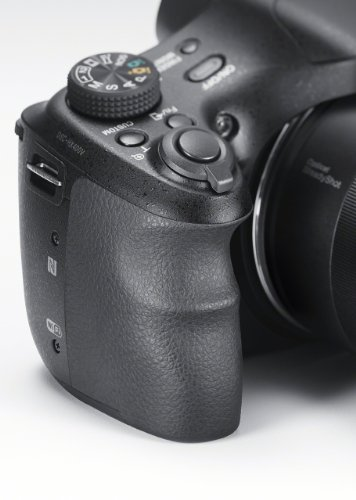"Sony DSC-HX400V - Cámara compacta de 20.4 MP (pantalla de 3"", zoom óptico 50x, estabilizador óptico, vídeo Full HD), Color Negro"