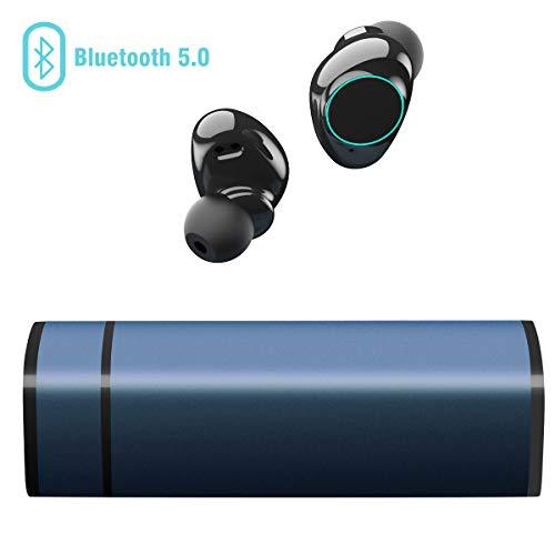 Cuffie Bluetooth 5.0, Auricolari Bluetooth Muzili TWS Leggeri Hi-Fi Cuffie Cancellazione...