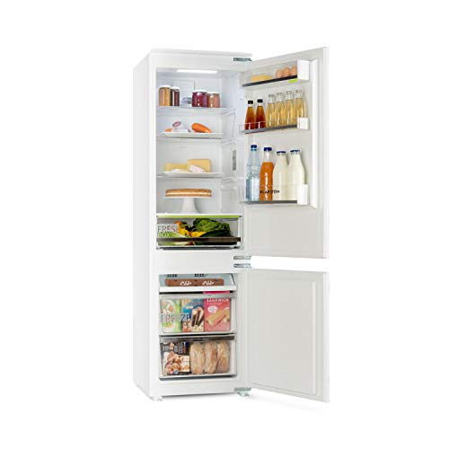 KLARSTEIN CoolZone • Combinazione Frigo e Congelatore • Frigo-Congelatore da Incasso • 241...