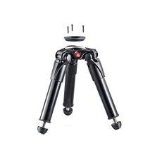 Manfrotto MVT535HH Digitales/cámaras de película Negro tripode - Trípode (Digitales/cámaras de película, 20 kg, 3 Pata(s), 24,3 cm, Negro, 11,6 cm)