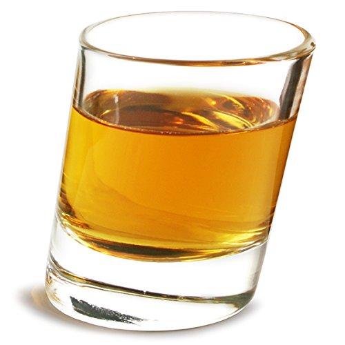 Pisa bicchierini 51gram/50ml–Confezione da 6  5cl bicchierini, bicchierini angolati,...