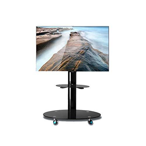 Xue Universal TV Cart, TV Stand per 32-65 Pollici LCD LED Televisori 360 º di Girevole con Ruote...