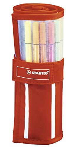 STABILO Pen 68 pennarelli colori assortiti - Rollerset da 30