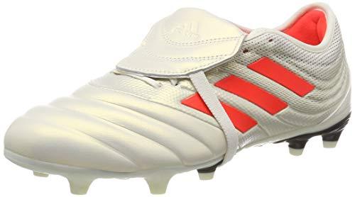 adidas Copa Gloro 19.2 Fg Scarpe da calcio Uomo, Bianco (Off White/Solar Red/Core Black D98060), 41 1/3 EU