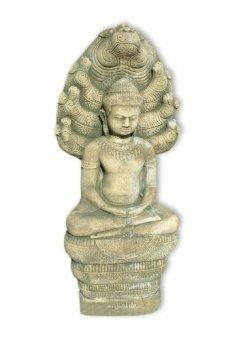 Buda serpiente decoración de jardín importado de Thailandia (10218)