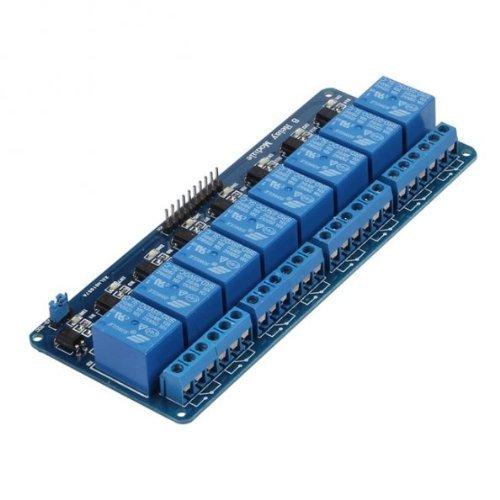 414ta85ERuL - kuman 5V 8 Canales Escudo Módulo de Relé para Arduino UNO-R3 1280 2560 ARM PIC AVR STM32 Raspberry Pi DSP K30