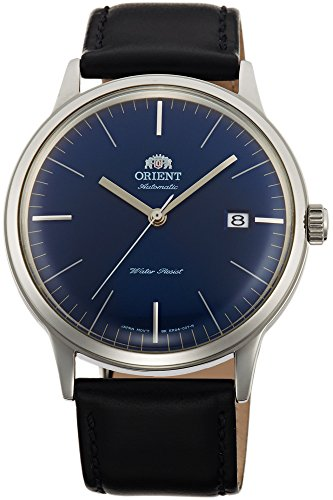 Orient Unisex Erwachsene Analog Automatik Uhr mit Leder Armband FAC0000DD0