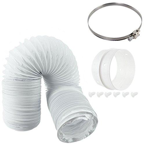 Anello di estensione tubo di sfiato Spares2go & kit per Gorenje ventilato asciugatrici (10,2cm/100mm di diametro)