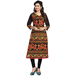 Ishin Women's Cotton Dress Material (Mjmhr-B-shli5-1505_Multicolor_One Size)