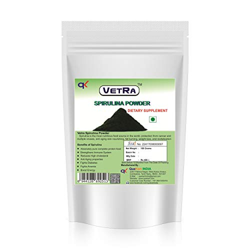 Vetra Spirulina powder - 100 Grams